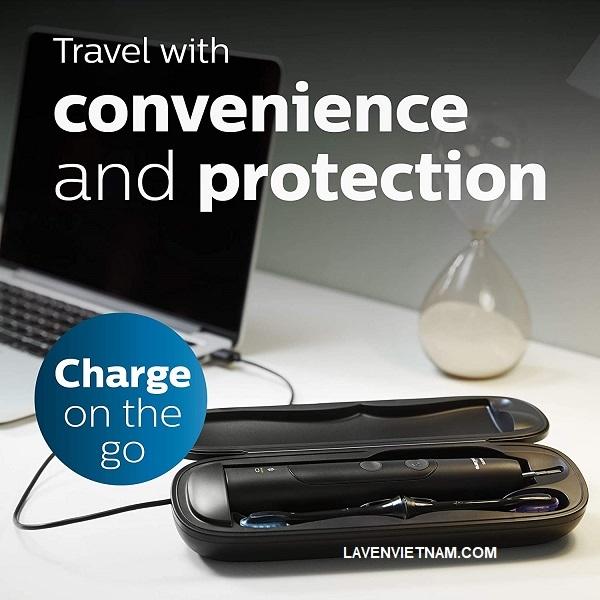 Mang theo Philips Sonicare của bạn khi di chuyển cùng với hộp sạc du lịch