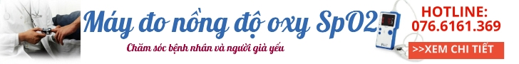 Máy đo nồng độ Oxy SpO2 kiểm soát nồng độ oxy trong máy và nhịp tim