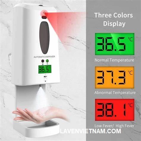 Cảnh báo nhiệt độ thân nhiệt bằng đèn và âm thanh