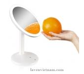 Gương trang điểm tròn có đèn Led Rio MMTS