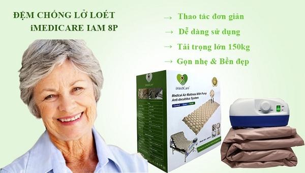 Đệm chống loét iMedicare iAM-8P