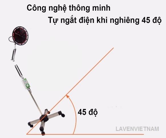 Đèn tần phổ chân cao CQJ-25