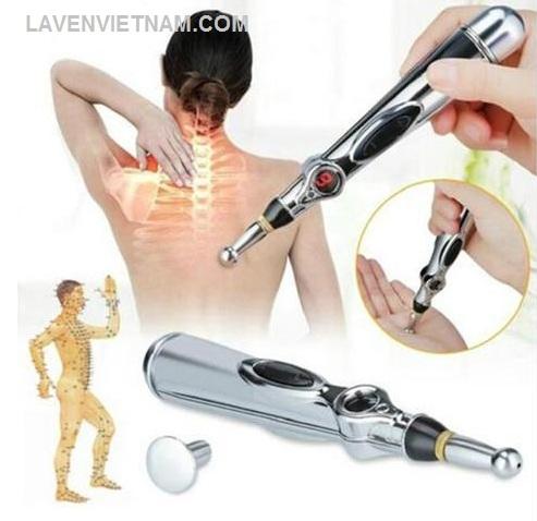 Đầu trị liệu laser tích hợp nằm trên nắp Spheroidal, đầu trị liệu tích hợp được đề xuất sử dụng để chiếu xạ vào các huyệt đạo trên cơ thể bạn.