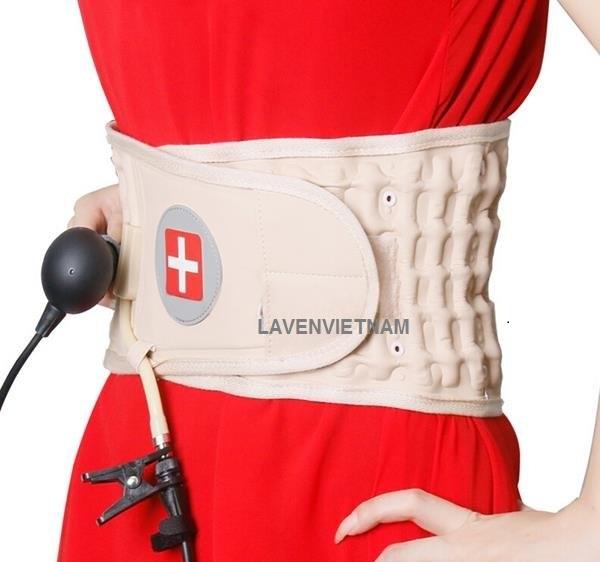 Đai hơi kéo giãn lưng Waist Brace giúp bạn chống lại cảm giác đau lưng cho thoái hóa và thoát vị đĩa đệm