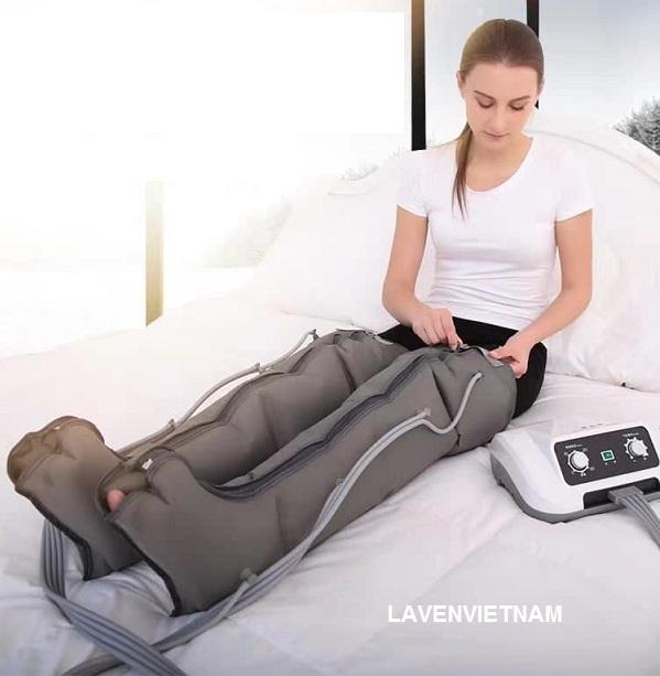 Máy massage chân nén khí trị liệu KZY -5
