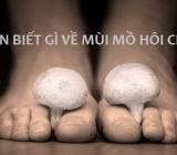 Mồ hôi chân và nguyên nhân gây ra mùi mồ hôi chân