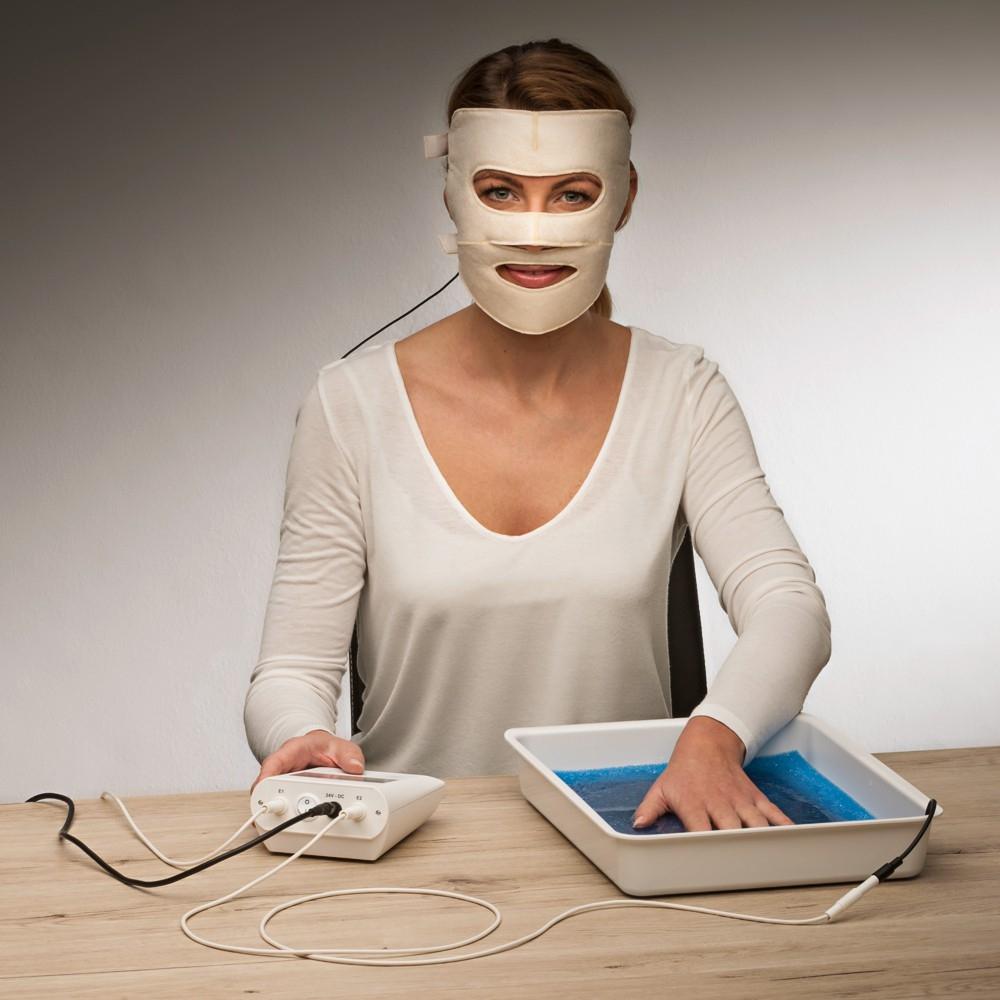 Sử dụng phương pháp điện di để điều trị ra mồ hôi ở mặt