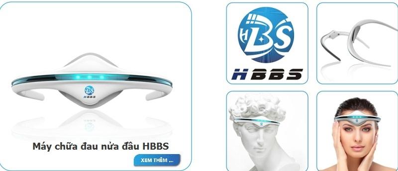 Máy chữa đau nửa đầu HBBS BS-PRH