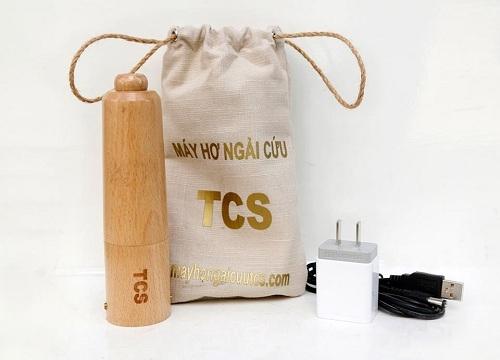 Máy hơ ngải cứu TCS được thiết kế nhỏ gọn, tối ưu công năng sử dụng và hiệu quả khi điều trị