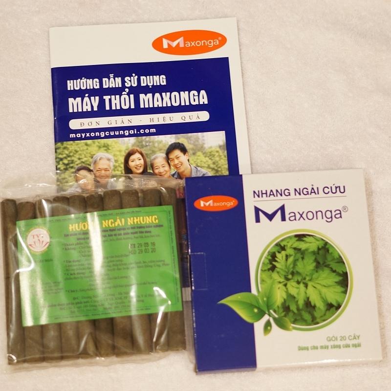 Điếu ngải cứu Maxonga - Hương ngải nhung
