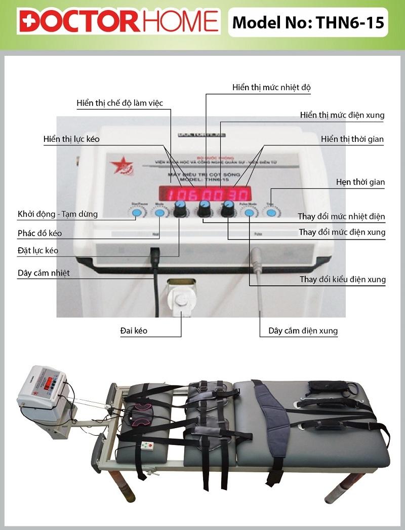 Máy vật lý trị liệu đa năng cao cấp Doctor Home DH14