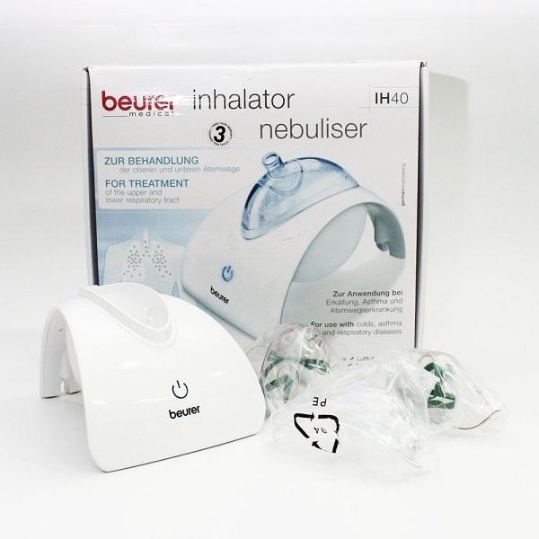 Máy xông mũi họng siêu âm Beurer IH40 được đánh giá là thiết bị xông mũi họng tuyệt vời tại Châu Âu