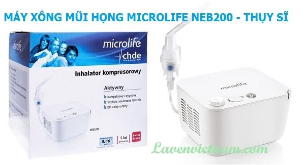 Máy xông mũi họng Microlife NEB200