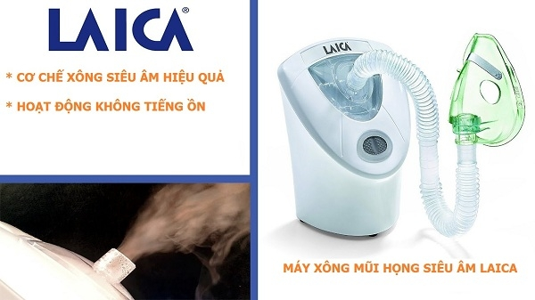 Máy xông mũi họng Laica MD6026