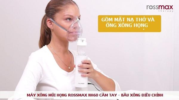 Máy xông mũi họng Rossmax NH60