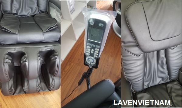 Vị trí chỗ ngồi có thể được điều chỉnh linh hoạt bằng cách sử dụng công tắc tay, và chỗ để chân và tựa lưng được điều chỉnh tự động. Tư thế thư giãn với tư thế nằm ngang đặc biệt dễ chịu.