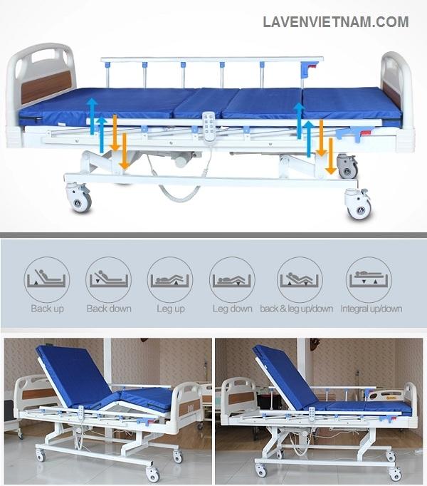 Giường điện 3 chức năng Tajermy GD03