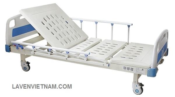 Giường bệnh nhân 2 tay quay M16