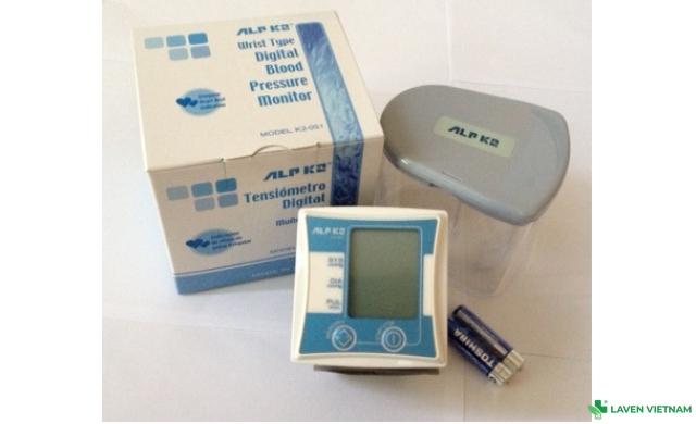 Máy đo huyết áp cổ tay ALPK2 K2-051 (Nhật)
