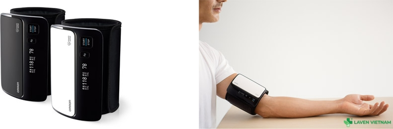 Máy đo huyết áp bắp tay tự động Omron HEM-7600T