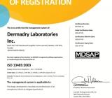 Tiêu chuẩn chất lượng của Máy chữa ra mồ hôi Dermadry