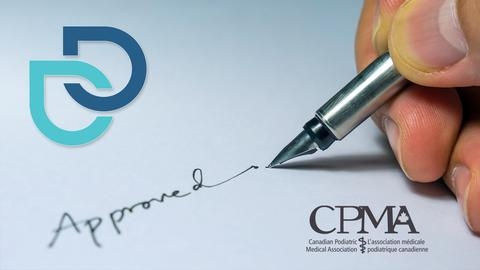 Phê duyệt của CPMA cho Máy chữa ra mồ hôi Dermadry