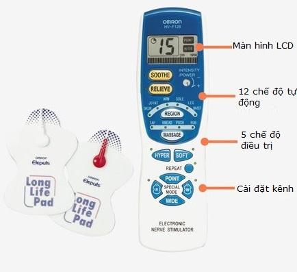Máy massage xung điện Omron HV-F128