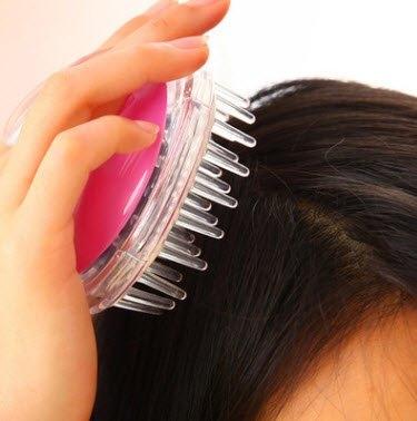 Lược chải gội đầu dưỡng sinh thông kinh lạc dùng chải, massage da đầu khi gội
