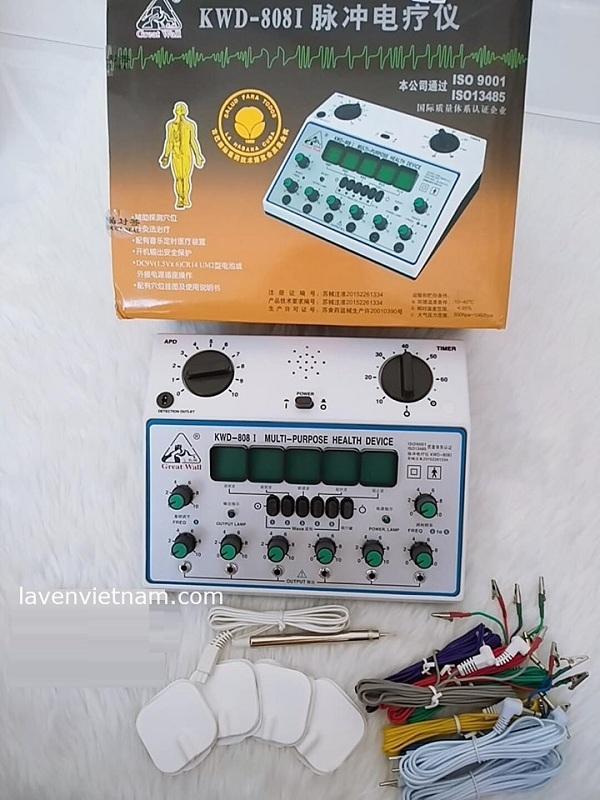 Máy điện châm KWD-808I (Trung Quốc) 6 giắc 12 kim
