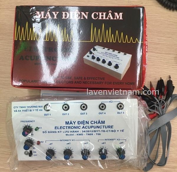Máy điện châm KWD-TN09-T06 (5 cọc, 10 kim) - Việt Nam