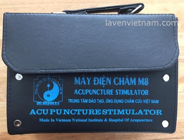 Máy điện châm M8 (6 cọc 12 kim) - Việt Nam