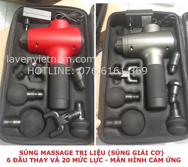 Súng massage trị liệu Massage Gun