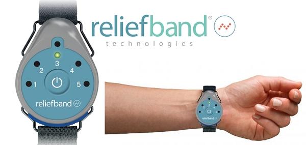 Vòng đeo tay Reliefband chống say tàu xe ốm nghén tiền đình