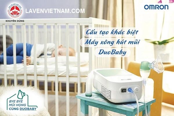 Máy xông hút mũi Omron DuoBaby là sản phẩm nên có trong mỗi gia đình có trẻ nhỏ