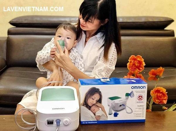 Có OMRON DuoBaby đồng hành, mẹ đừng lo lắng về vấn đề hô hấp của bé