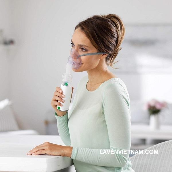 Máy xông mũi họng cầm tay Medisana IN535 dễ dàng sử dụng