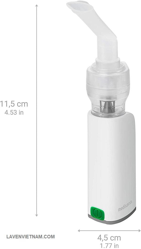 Máy xông mũi họng cầm tay Medisana IN535 - 1