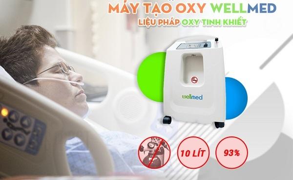 Máy tạo oxy 10 lít Wellmed