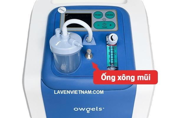 Bộ phận ống xông mũi họng đi kèm máy tạo oxy Owgels