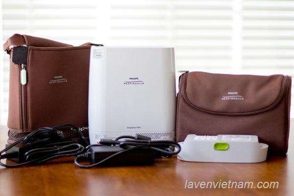 Máy tạo oxy Philips  SimplyGo Mini là mẫu máy được ưa chuộng nhất của cá nhân và bệnh viện