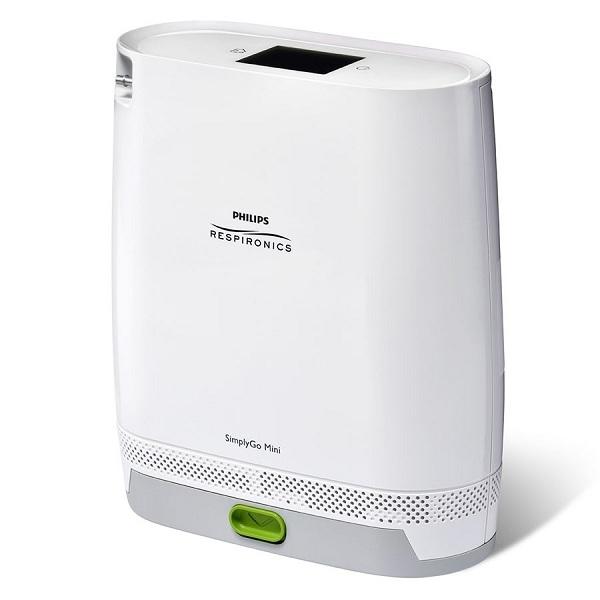 Máy tạo oxy Philips  SimplyGo Mini là mẫu thiết kế nhỏ gọn nhất về máy tạo oxy