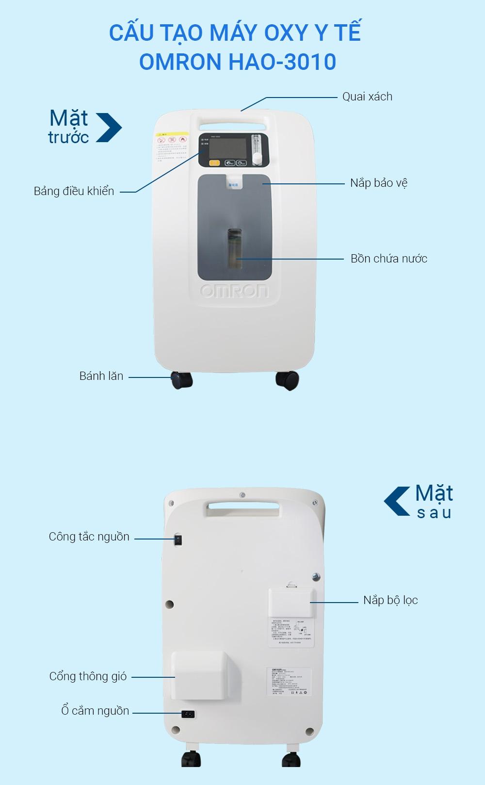 Máy tạo oxy 3 lít OMRON HAO-3010