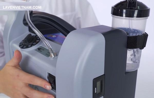 Máy tạo oxy Nidek đạt độ tinh khiết hoàn toàn trong vòng chưa đầy 3 phút