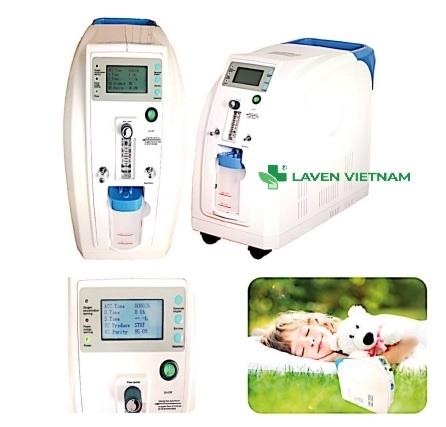 Với công suất tiêu thụ 380VA, thiết bị này được thiết kế để cung cấp dòng oxy liên tục một cách thuận tiện ngay tại nhà.
