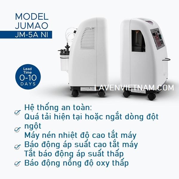 Máy tạo oxy 5 lít JUMAO JMC5A