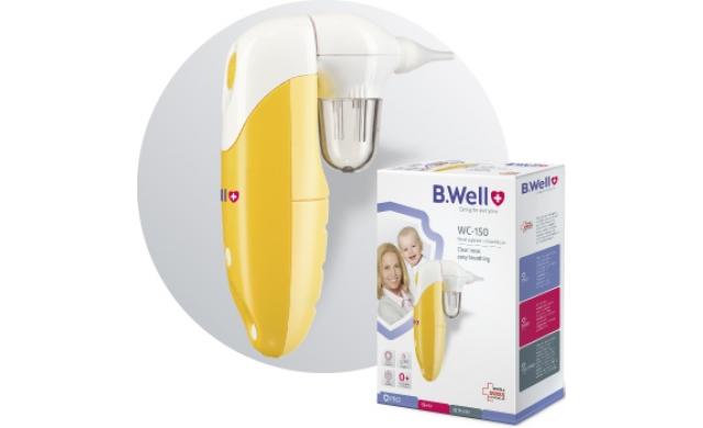 Máy hút dịch mũi BWell Swiss WC-150