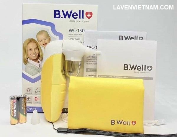 Máy hút dịch mũi B.Well Swiss WC-150