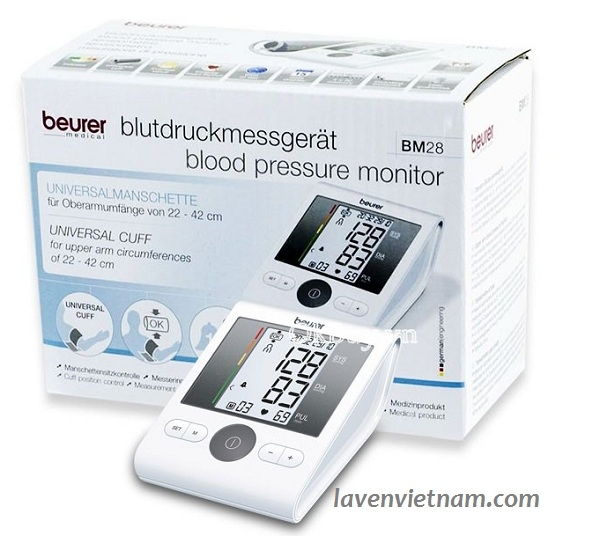 Máy đo huyết áp bắp tay Beurer BM28