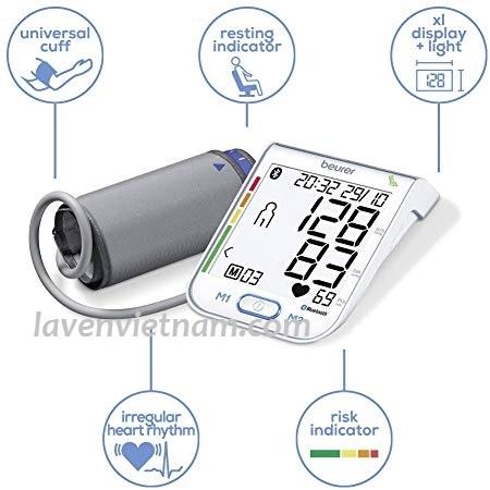 Máy đo huyết áp bắp tay Beurer BM77 Bluetooth