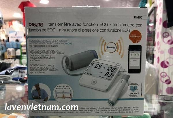 Máy đo huyết áp bắp tay Beurer BM95 Bluetooth